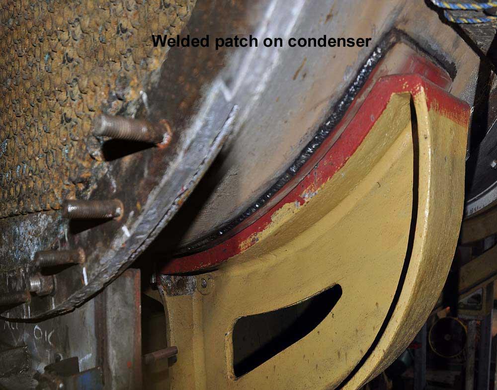 Condenser-patch