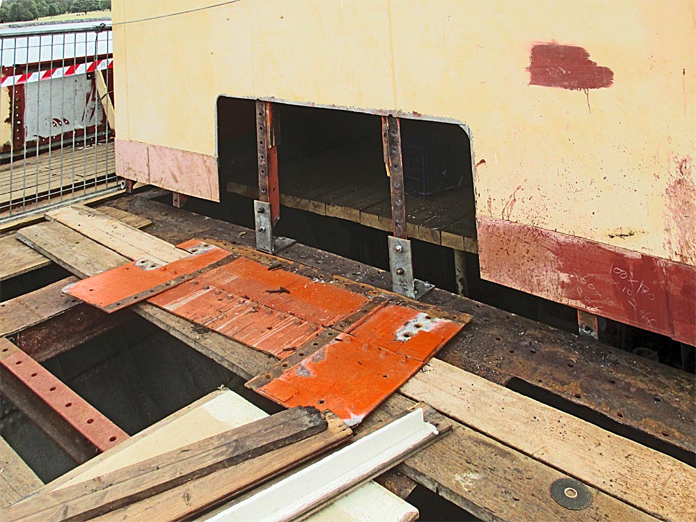 Dismantled-deck-and-underlying-steel work