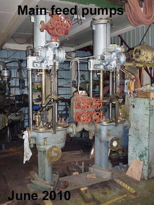 Steam Ship Engine Room: Update July 2010