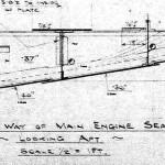 Original plan showing Keel, A-strake, B-strake and Floor/Frame structures