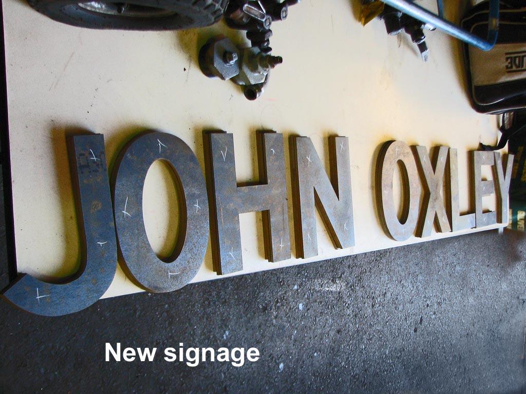 New-signage