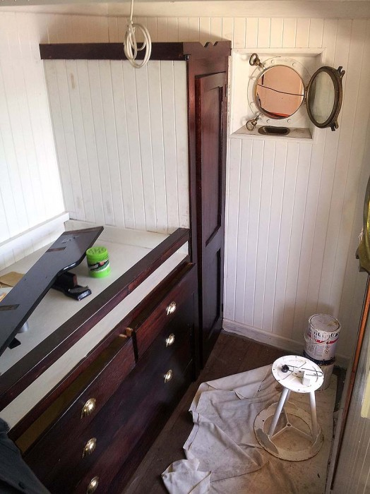 Chief Engineer's cabin nearing completion