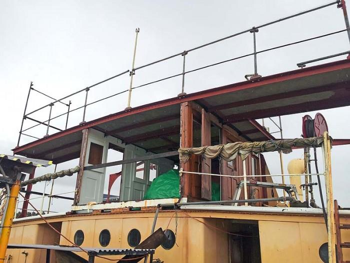 New bridge deck installed