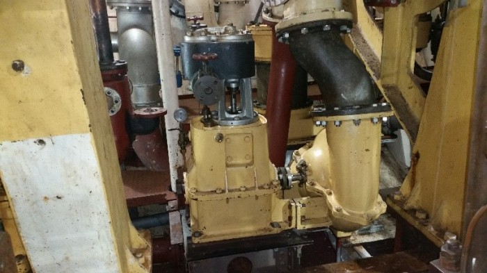 Bolton Paul circulating pump with Brisbane made Sargeants centrifugal pump